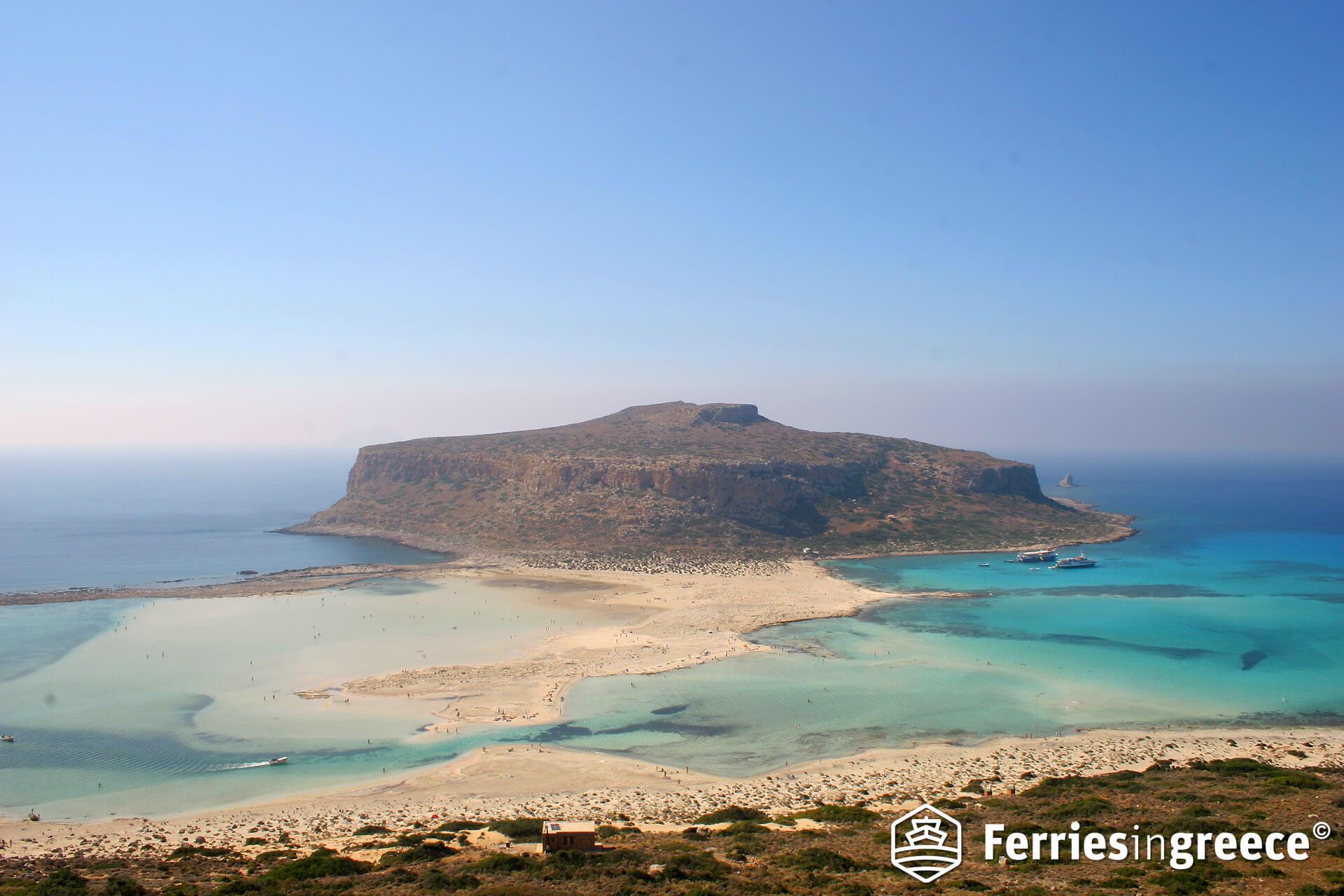 Santorini to Crete