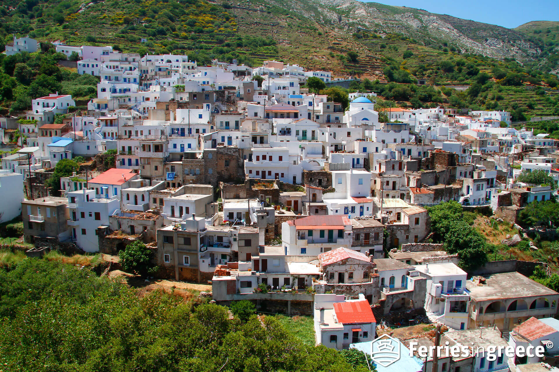 koronos village naxos
