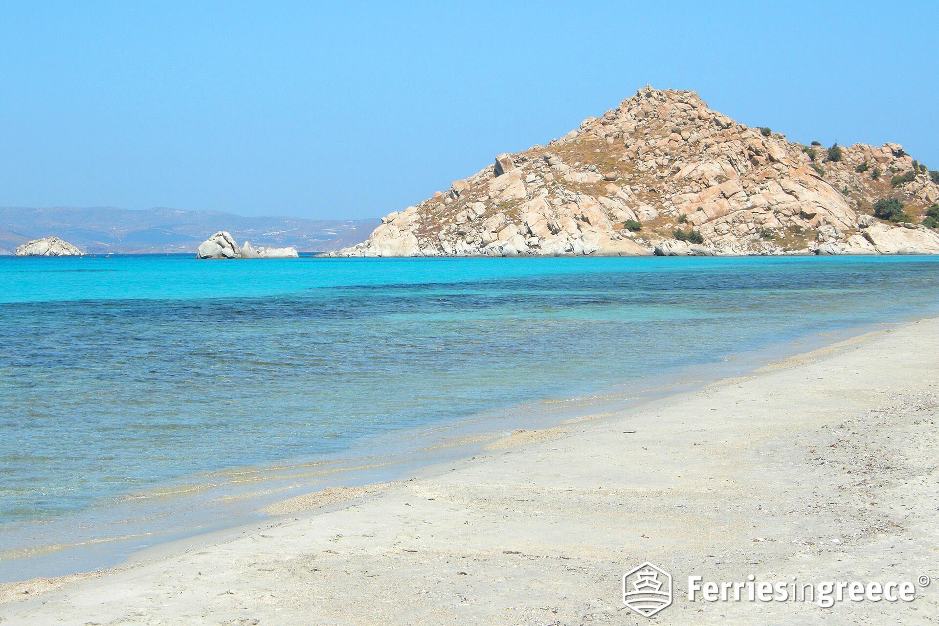 sahara beach naxos