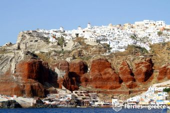 Mykonos to Santorini