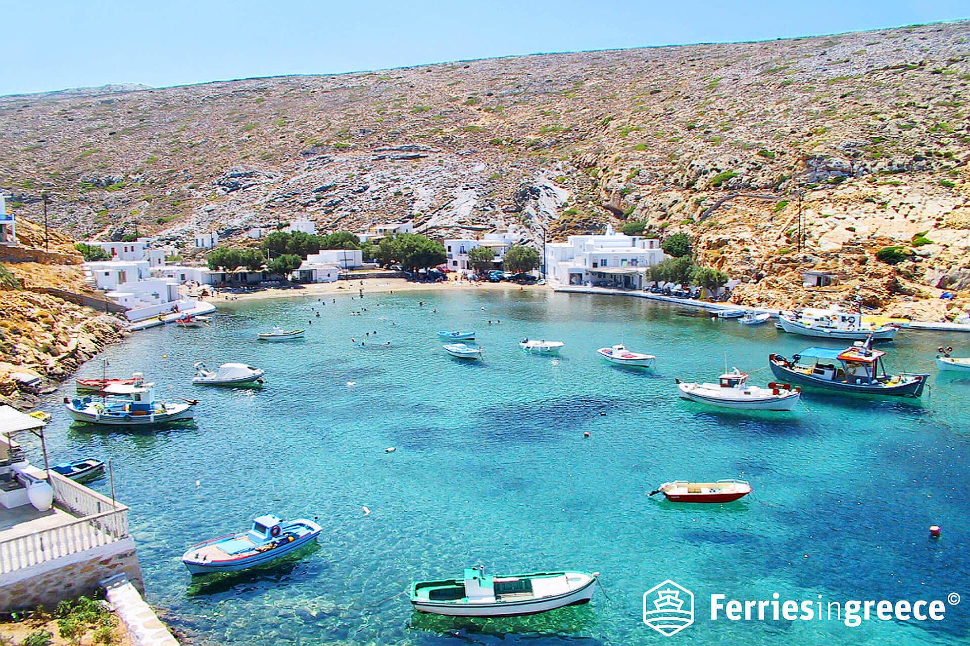 heronisos beach sifnos