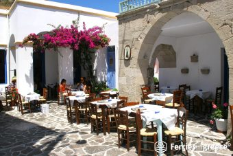 Traditional Tavern in Milos Greece