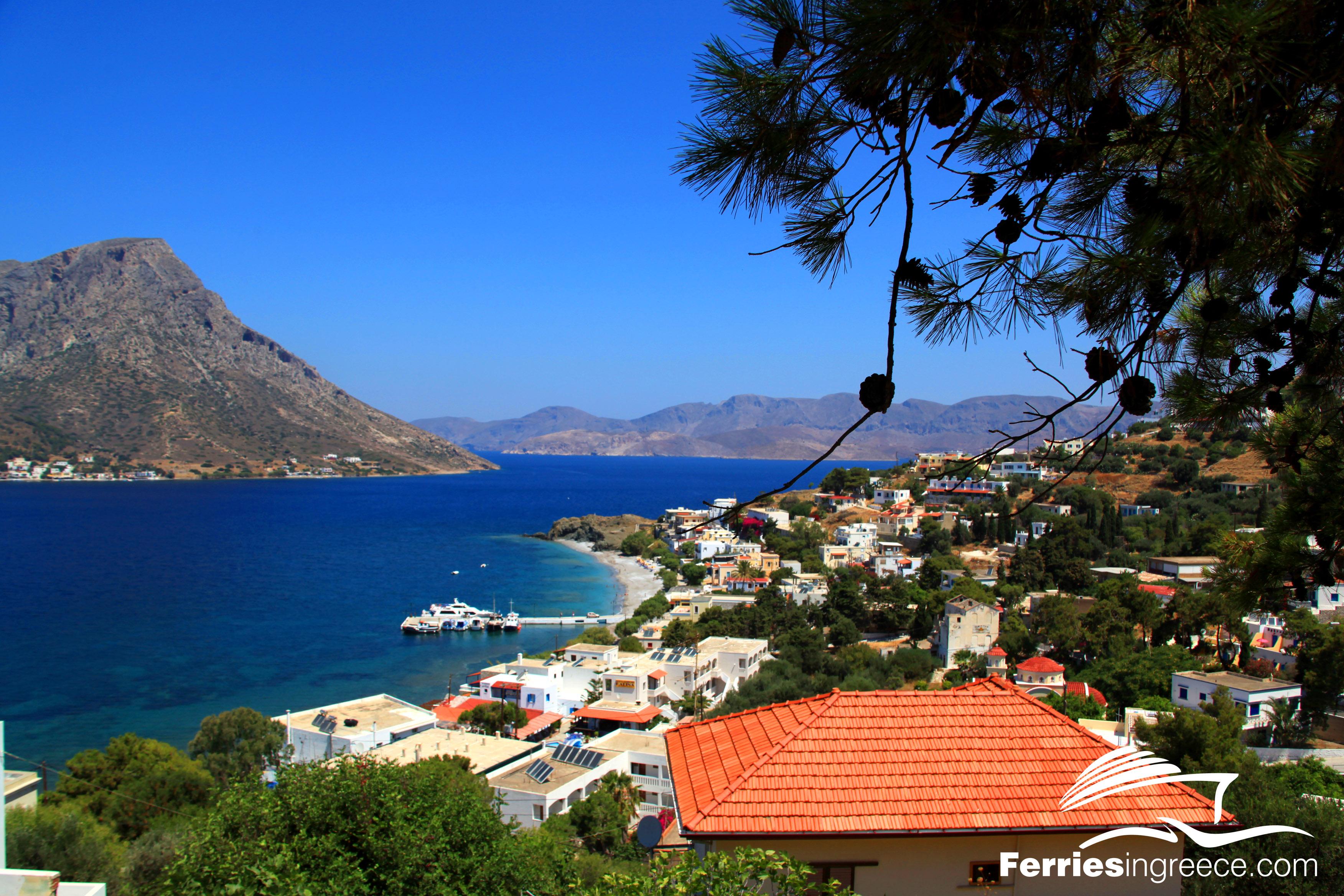 Kamari village Kalymnos 2