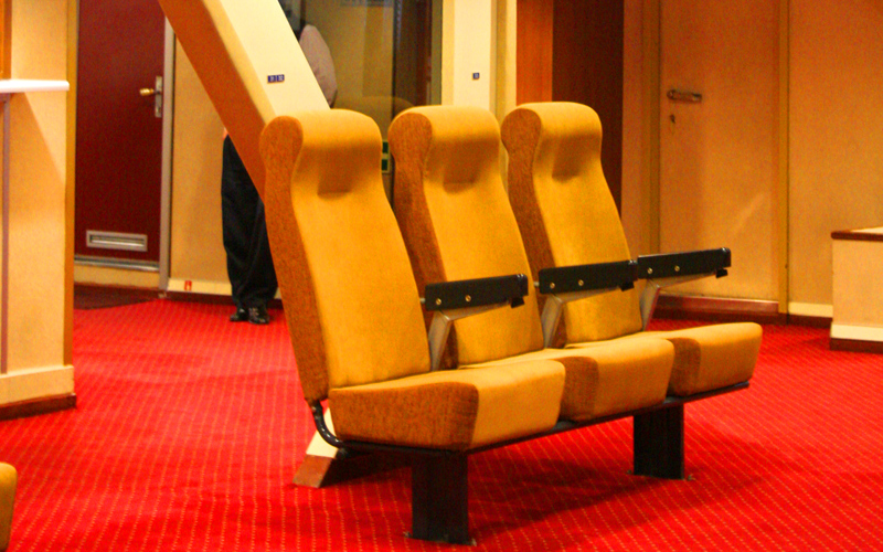 Airtype seat in Greek ferry