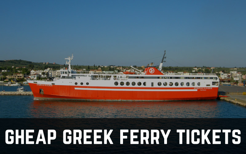Cheap Greek ferry tickets: most economic routes