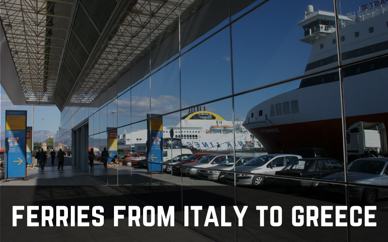 Ferries from Italy to Greece