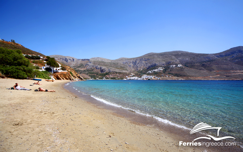 Ferries to Amorgos from Athens