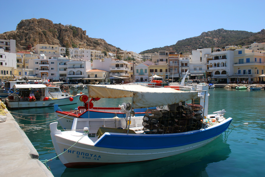 Ferries to Karpathos island, Greece