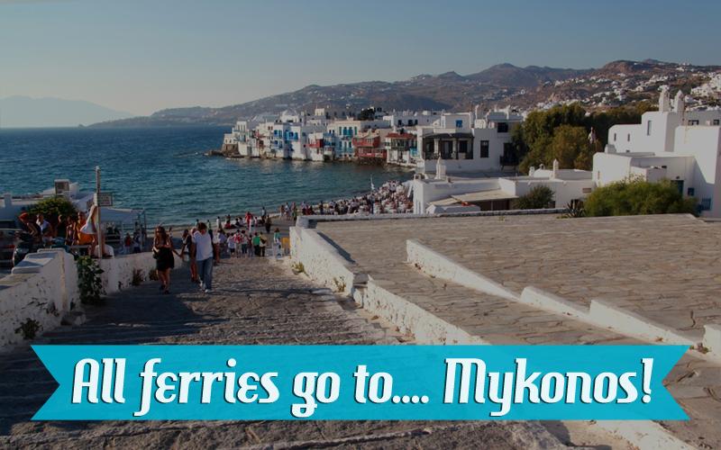 Ferries to Mykonos