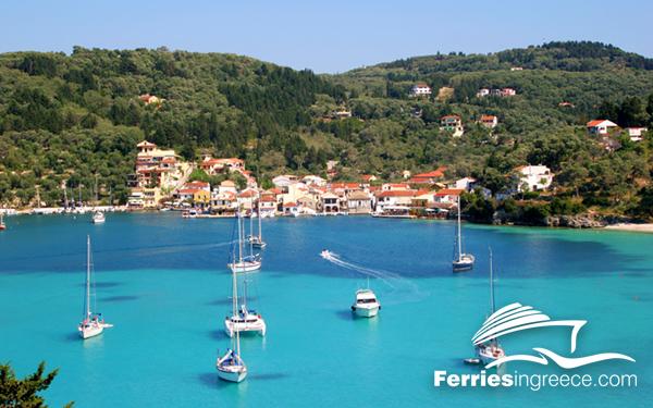 Greek island hopping: Corfu-Paxi