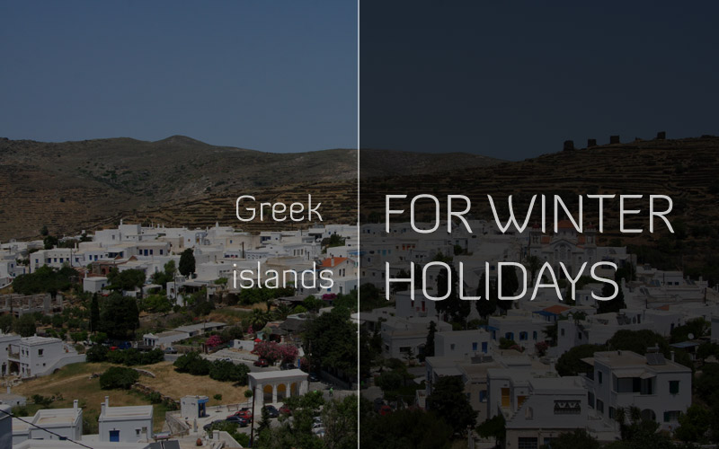 Is it worth to visit the Greek islands for winter holidays?