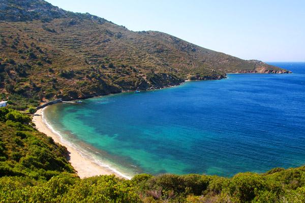 Secluded Greek island of Fourni