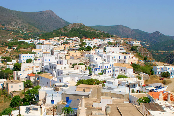 Secluded Greek island of Kythira