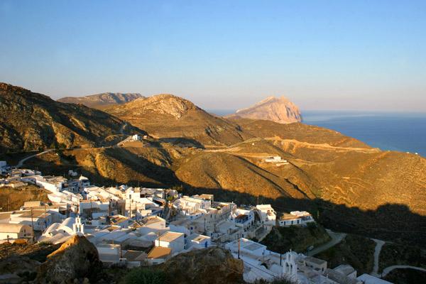 Anafi in Greek islands off the beaten track