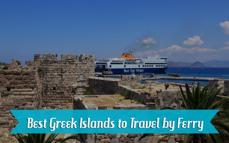 Best Greek islands to visit by ferry from Athens