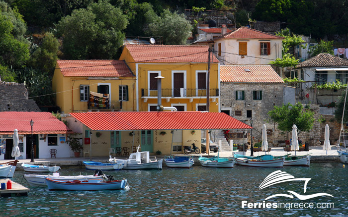 Villages in Ithaca island
