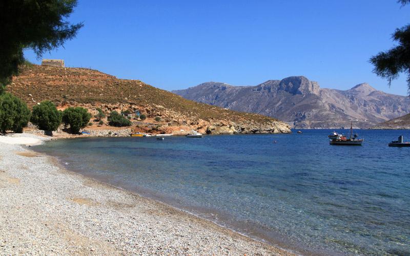 Ferry to Kalymnos island