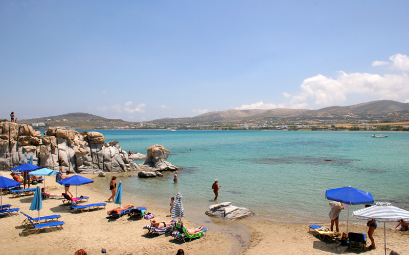 Island hopping from Rafina to Naxos and Paros