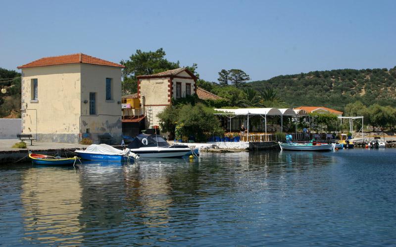 Ferry to Lesvos
