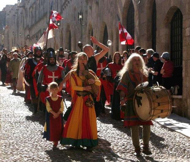 Top festivals in the Greek islands: Medieval Rose Festival