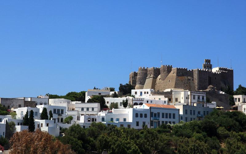 Ferry to Patmos island
