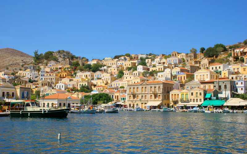 Simi of Dodecanese islands