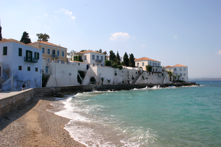 Greek ferry hopping from Athens to Hydra and Spetses