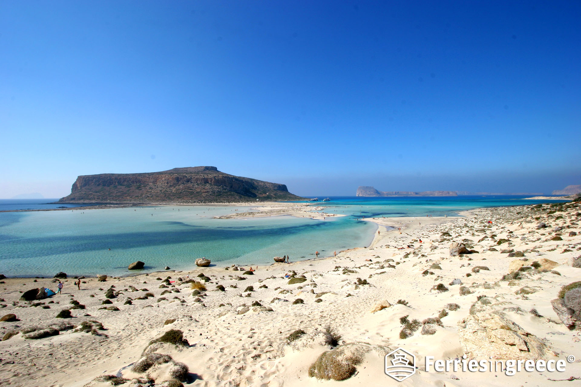 Best beaches in the Greek islands: Balos