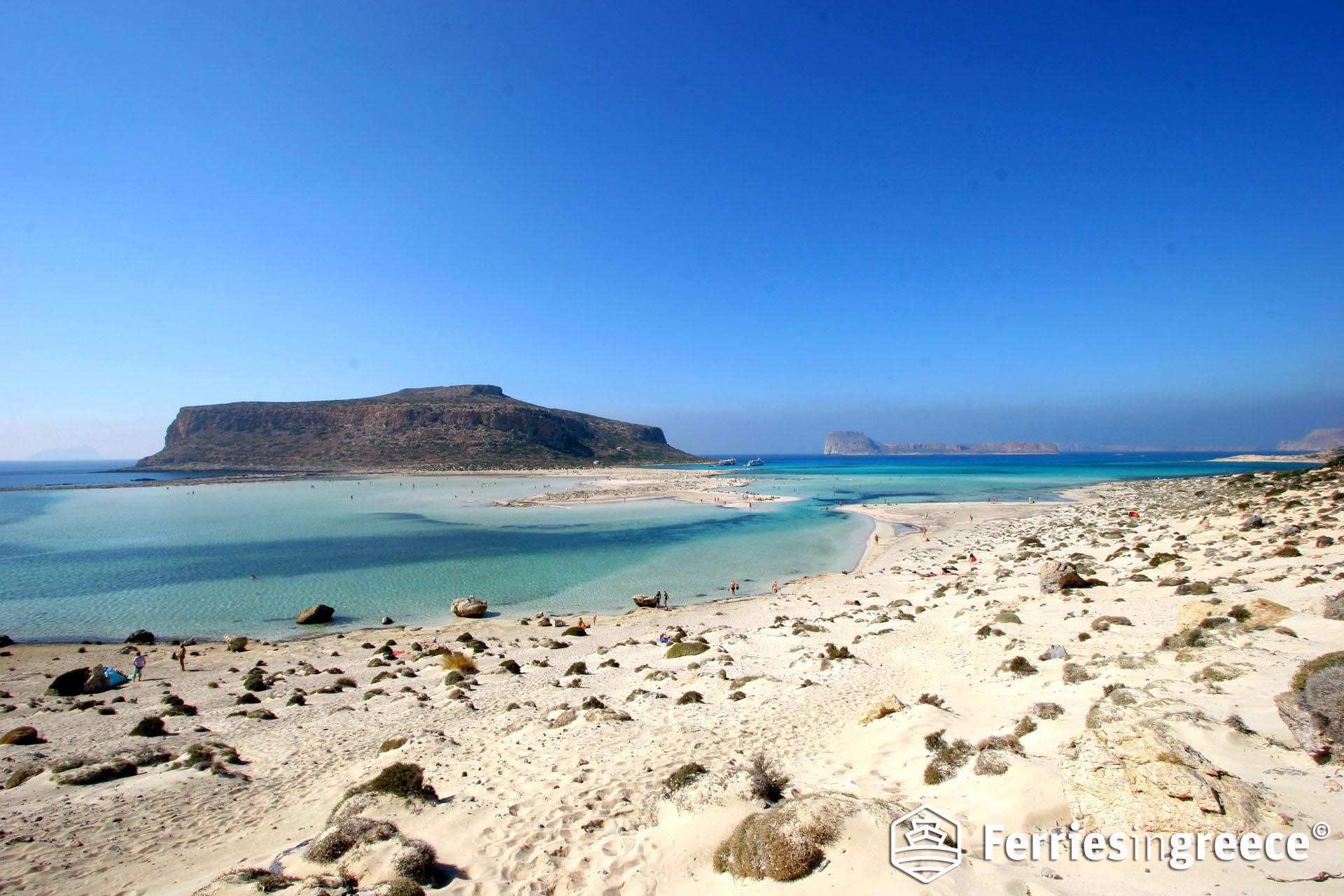 Best beaches in the Greek islands: Balos