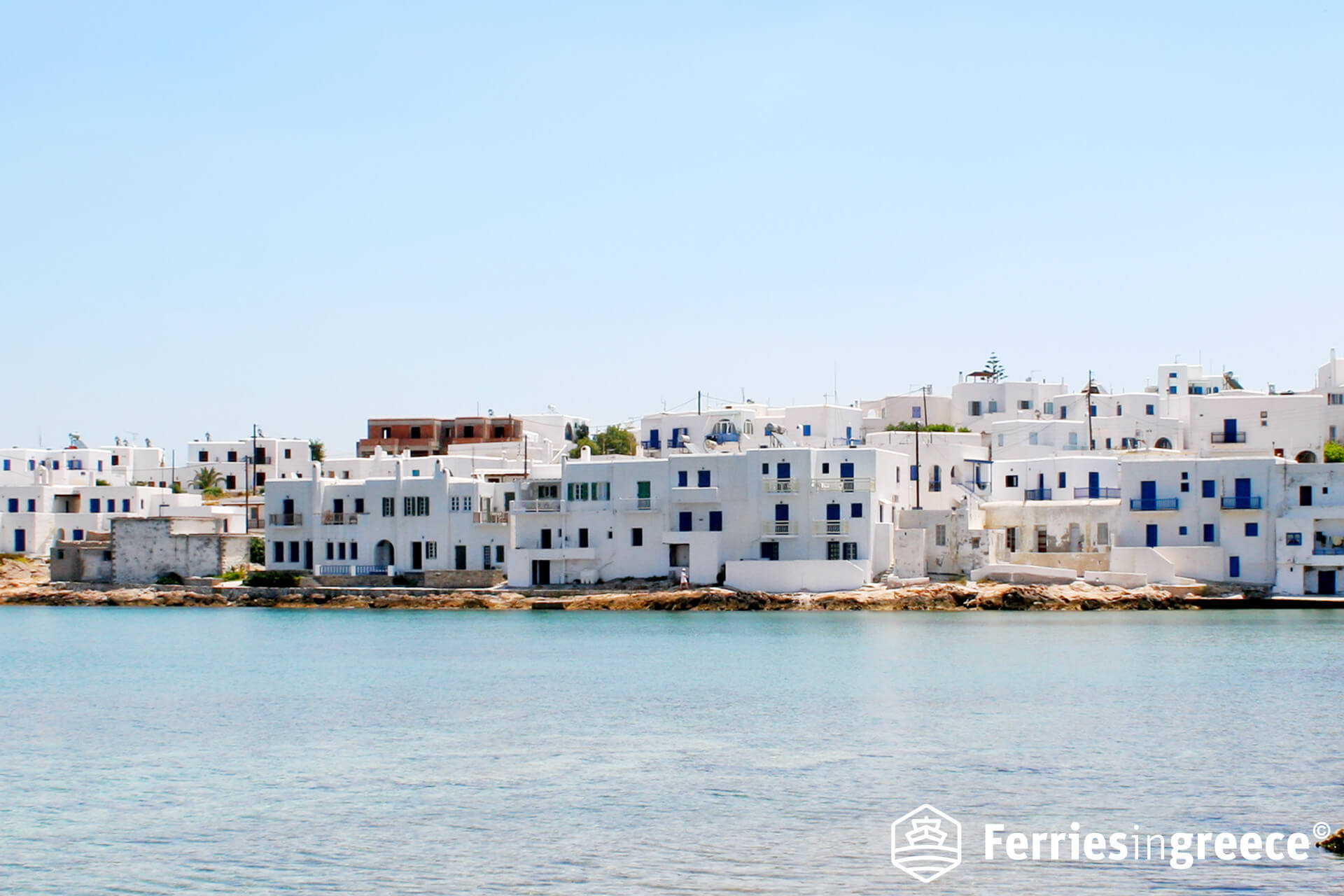 island hopping from paros to naxos