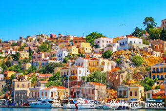 island hopping from rhodes to symi