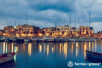 bary port in italy