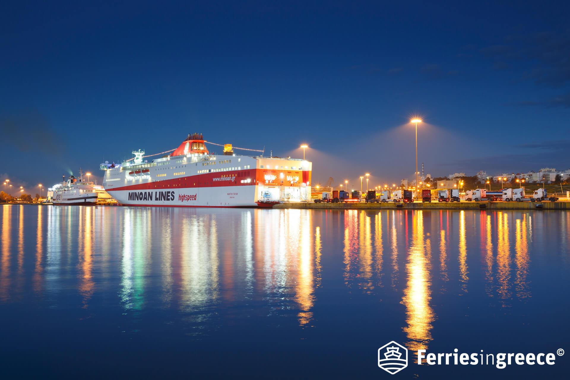 ferry to crete
